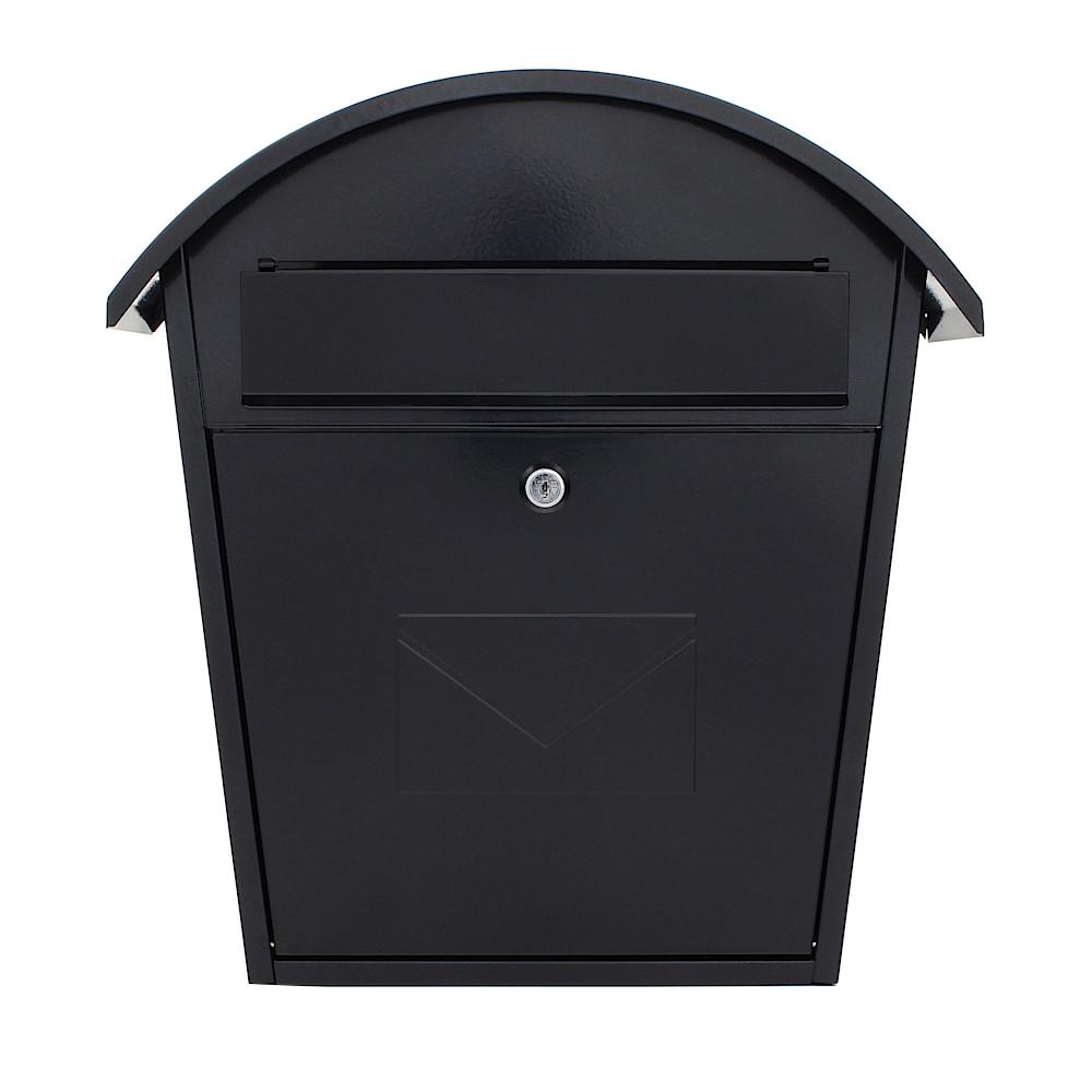 Rottner Briefkasten Jesolo schwarzgrau