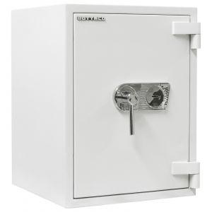Rottner Wertschutzschrank EN3 Diamant Super Fire Premium DO65 Doppelbartschloss lichtgrau